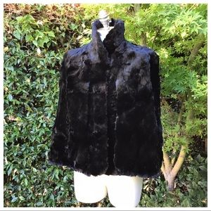 Vintage Genuine Fur Capelet S